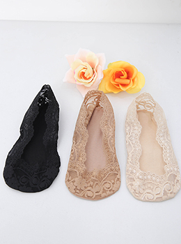 [YY-AC065] Fake Lace Slippers