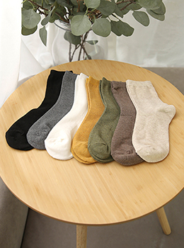 [YY-AC078] Deli Melange Long socks