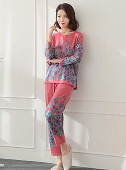 [YY-HW038] Honeymoon Top and Bottom Pajamas SET