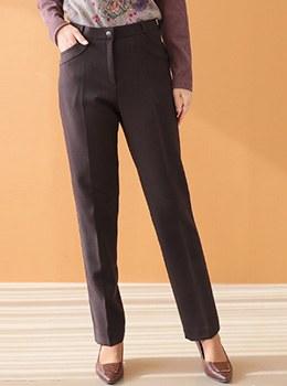 [9D-PT032] Hailey brushed dress pants