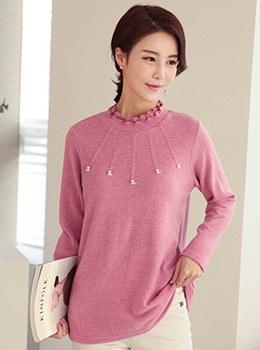 [9D-TS180] Plain Pearl T-Shirt