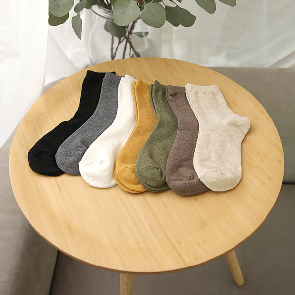 [YY-AC078] Deli melange long socks (5 sets)