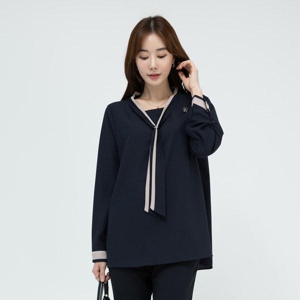 TBA1046 Kern tie blouse