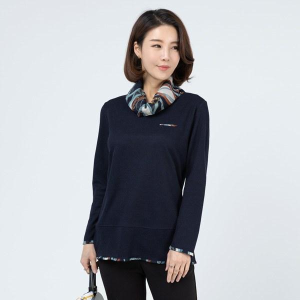 TBA1017 Verscarf T-shirt