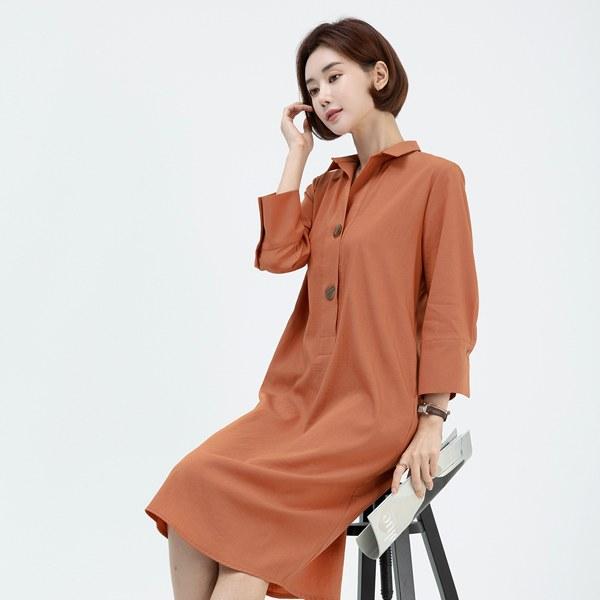 OPA2015 [MADE D] Lulit Button Dress