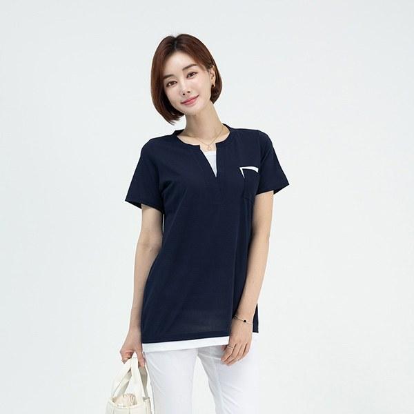 TBA3015 Beffin Color Pocket T-shirt