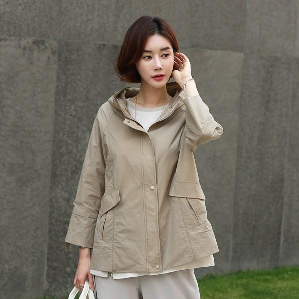 OUA3025 Melandfake Hooded Jacket