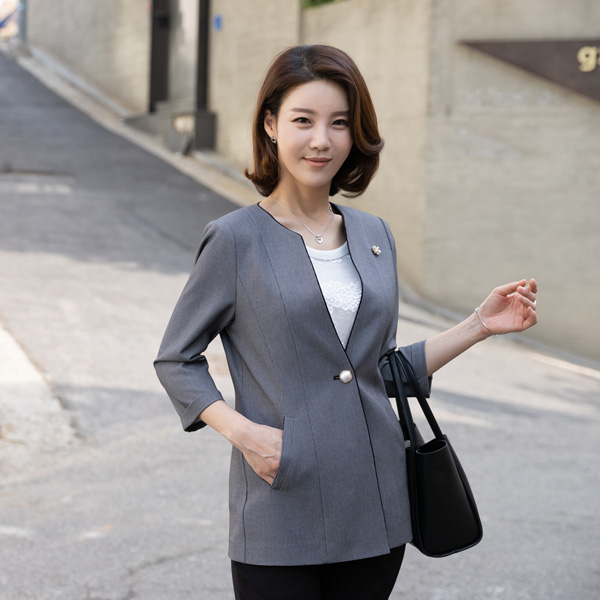 OUA3023 Monche Turn-Up Sleeve Jacket