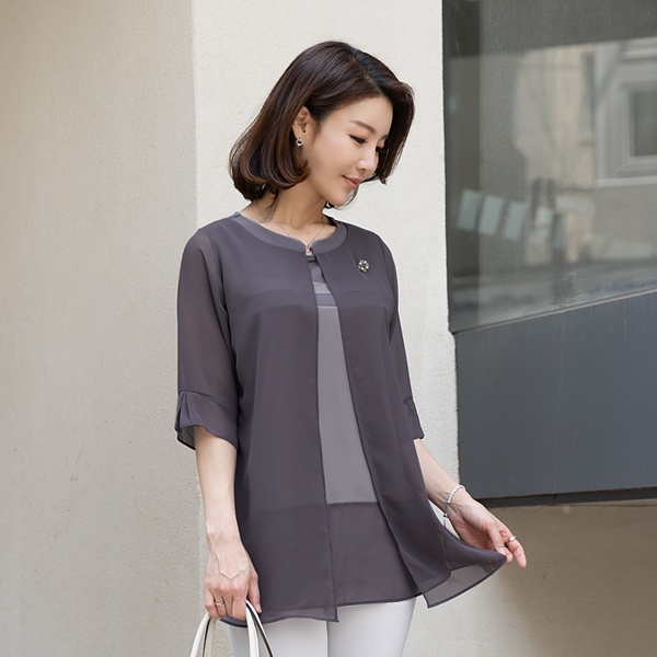 TBA3102 Let Me Layered Blouse