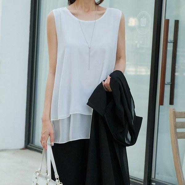 TBZ3273 Revedin double nash blouse