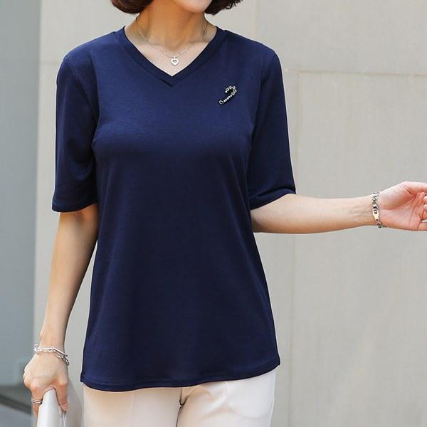 TBA3134 Melni V-neck T-shirt