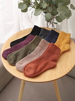[YD-AC013] Deli knit long socks