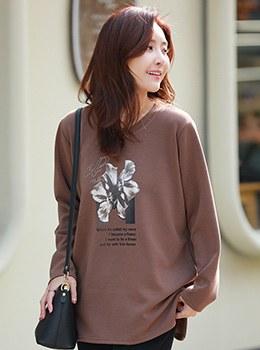 [9D-TS077] Camellia T-shirt