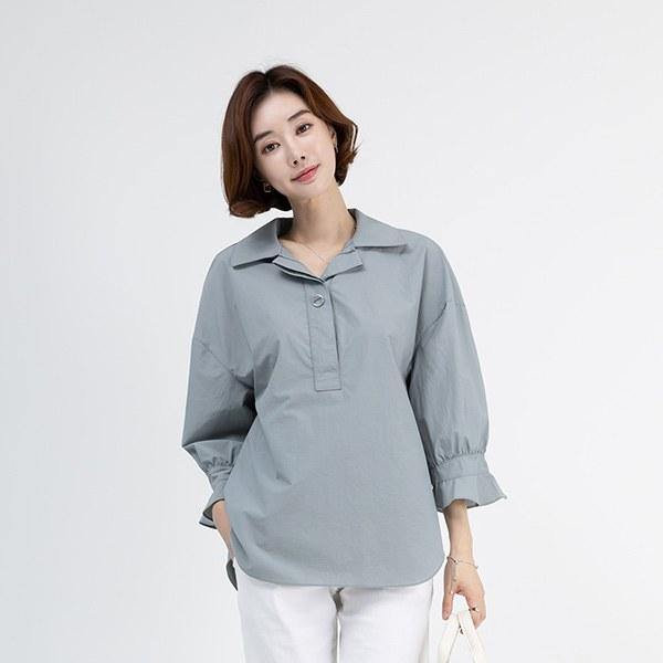 TBA3045 Hydni button blouse